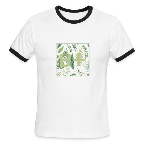 Be positive - Men's Ringer T-Shirt