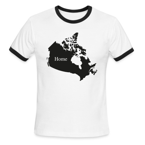 Canada Home - Men's Ringer T-Shirt