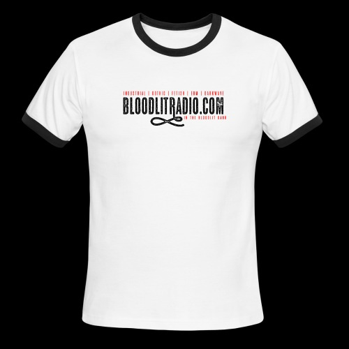 Bloodlit Radio 1 - Men's Ringer T-Shirt