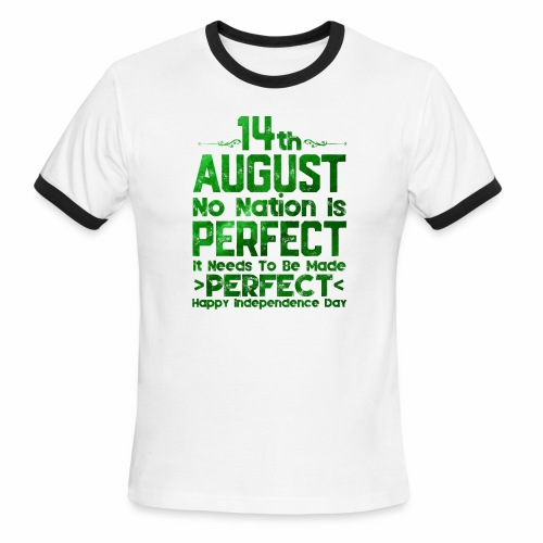 14th August Independence Day - Men's Ringer T-Shirt