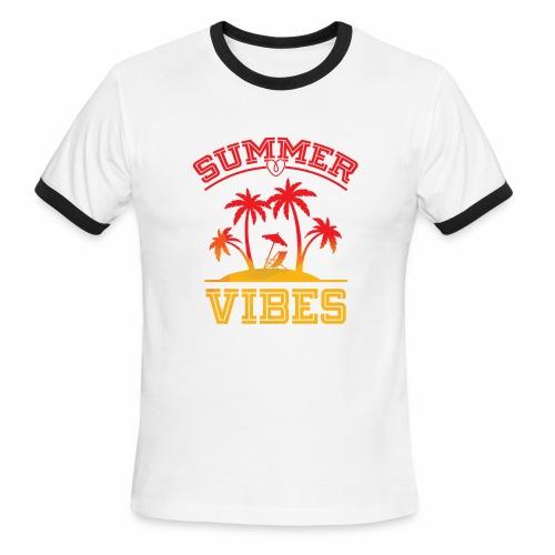 Summer Vibes - Men's Ringer T-Shirt