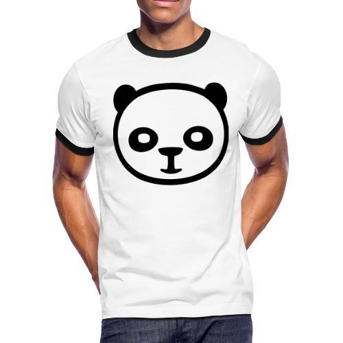 Panda bear, Big panda, Giant panda, Bamboo bear - Men's Ringer T-Shirt