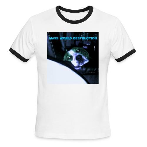 Mass World Depression - Men's Ringer T-Shirt