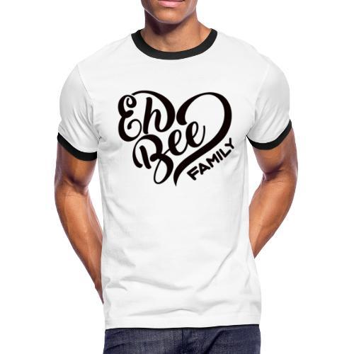 EhBeeBlackLRG - Men's Ringer T-Shirt