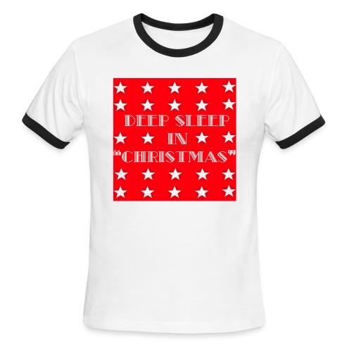 Christmas theme - Men's Ringer T-Shirt