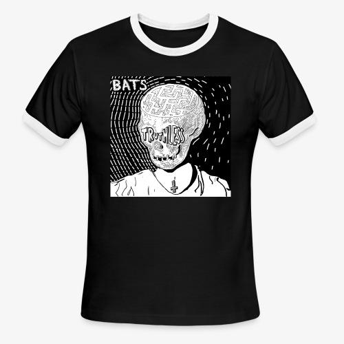 BATS TRUTHLESS DESIGN BY HAMZART - Men's Ringer T-Shirt