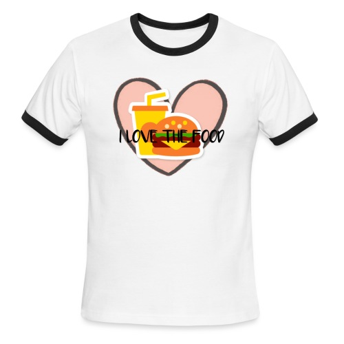 Food - Men's Ringer T-Shirt