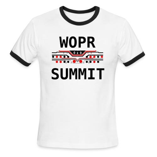 WOPR Summit 0x0 RB - Men's Ringer T-Shirt
