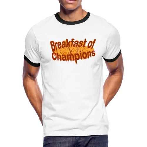 Breakfast of Champions - Men's Ringer T-Shirt
