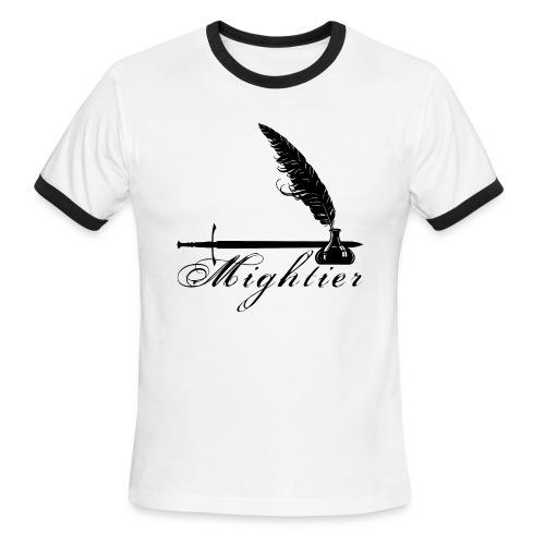 mightier - Men's Ringer T-Shirt