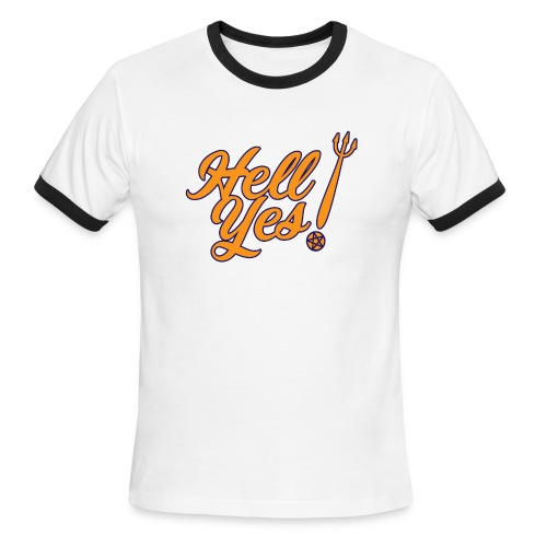 Hell Yes - Men's Ringer T-Shirt