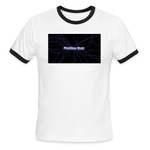 backgrounder - Men's Ringer T-Shirt