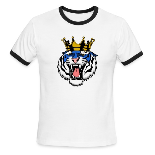 Jackson State Tiger Crown - Men's Ringer T-Shirt