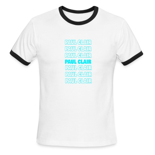 Paul Clair Stand Out Adult - Men's Ringer T-Shirt