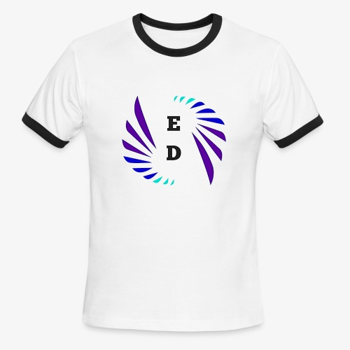 Entertainment Daily Logo - Men's Ringer T-Shirt