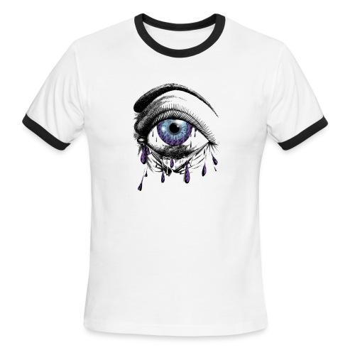 Lightning Tears - Men's Ringer T-Shirt