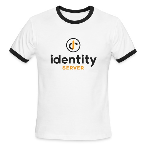 Idenity Server Mug - Men's Ringer T-Shirt