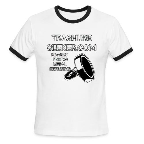trashureseeker logo - Men's Ringer T-Shirt