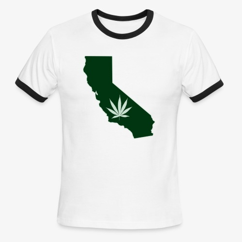 weed - Men's Ringer T-Shirt