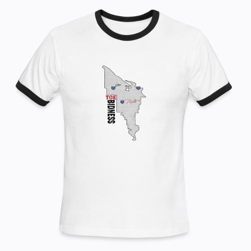Toe Bidness - Men's Ringer T-Shirt