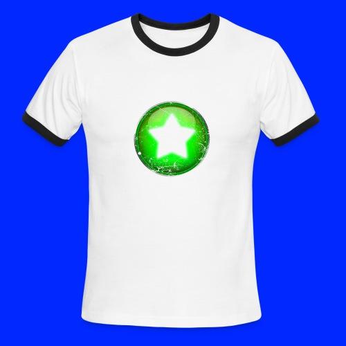 Vintage Power-Up Tee - Men's Ringer T-Shirt