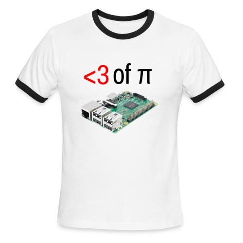Life of Raspberry Pi 2 - Men's Ringer T-Shirt