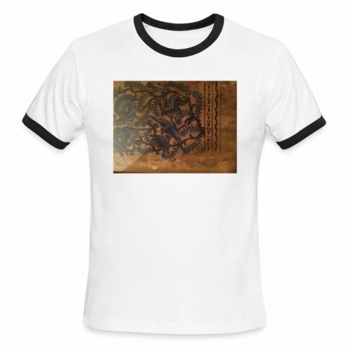 Dilfliremanspiderdoghappynessdogslikeitverymuchtha - Men's Ringer T-Shirt