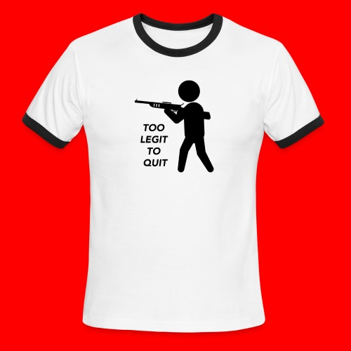 OxyGang: Too Legit To Quit Products - Men's Ringer T-Shirt