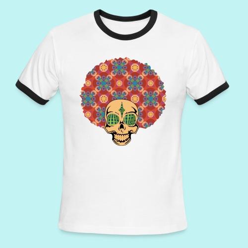 MACK DADDY SKULLY - Men's Ringer T-Shirt