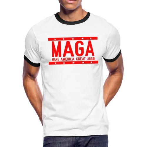 MAGA - Men's Ringer T-Shirt