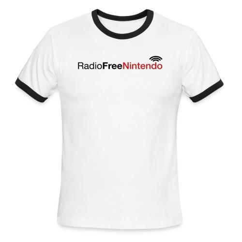 rfn logo - Men's Ringer T-Shirt