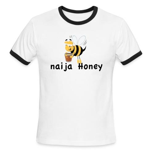 naija honey... - Men's Ringer T-Shirt