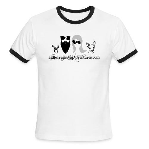 LTBA Heads Logo - Men's Ringer T-Shirt