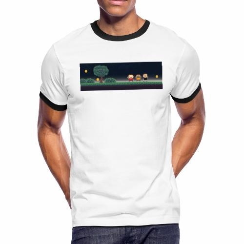 Twitter Header 01 - Men's Ringer T-Shirt