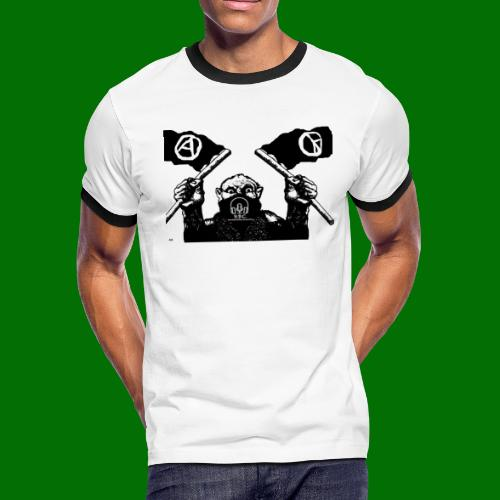 anarchy and peace - Men's Ringer T-Shirt