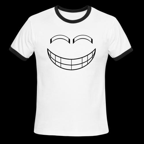 Empty Grin - Men's Ringer T-Shirt