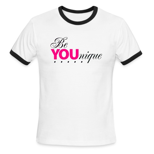 Be Unique Be You Just Be You - Men's Ringer T-Shirt