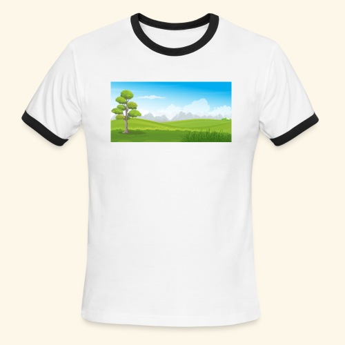 Hills cartoon - Men's Ringer T-Shirt