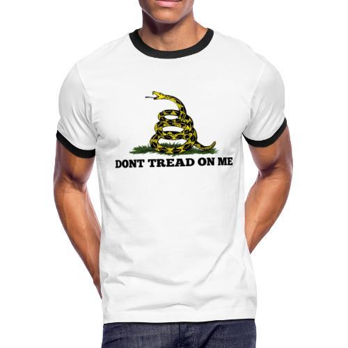 GADSDEN 1 COLOR - Men's Ringer T-Shirt