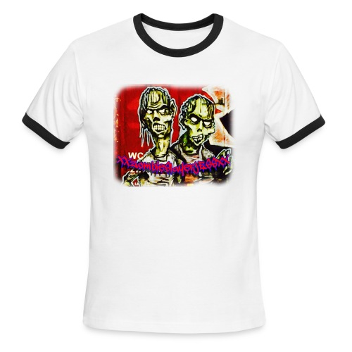 xxZombieSlayerJESSxx - Men's Ringer T-Shirt