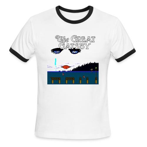 Great Gatsby Game Tri-blend Vintage Tee - Men's Ringer T-Shirt