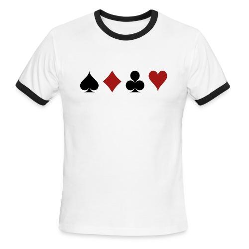 cards 159600 1280 - Men's Ringer T-Shirt