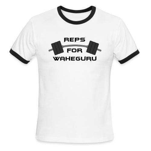 REPS FOR WAHEGURU - Men's Ringer T-Shirt