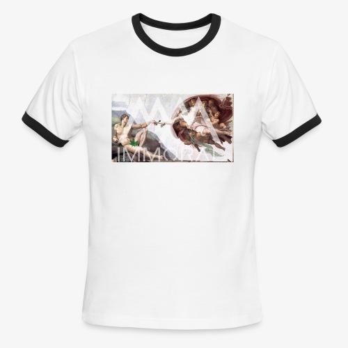 ADAMJOINT - Men's Ringer T-Shirt