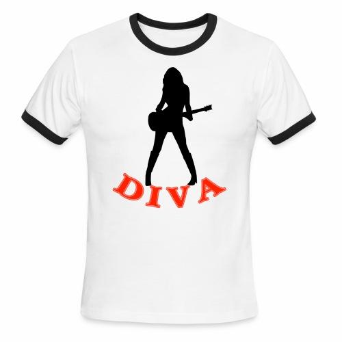 Rock Star Diva - Men's Ringer T-Shirt