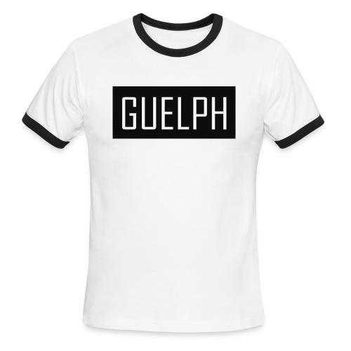 Guelph Logo - Men's Ringer T-Shirt