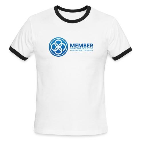 IICT Member Logo - Men's Ringer T-Shirt