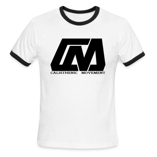 Cali Move Front black women - Men's Ringer T-Shirt