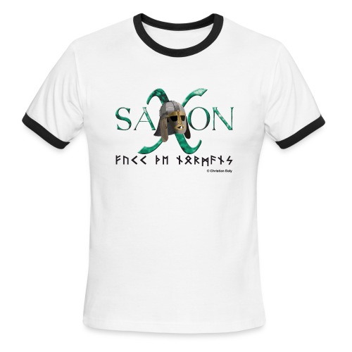 Saxon Pride - Men's Ringer T-Shirt