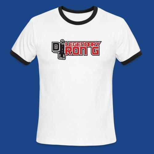 Ron G logo - Men's Ringer T-Shirt